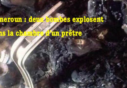 Cameroun : attentat à la bombe dans la chambre d'un prêtre