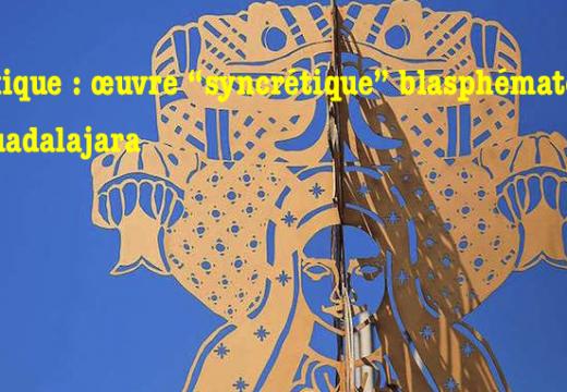 Mexique : une œuvre artistique blasphématoire