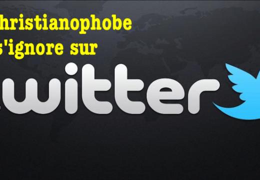Christianophobie : déni de réalité sur Twitter