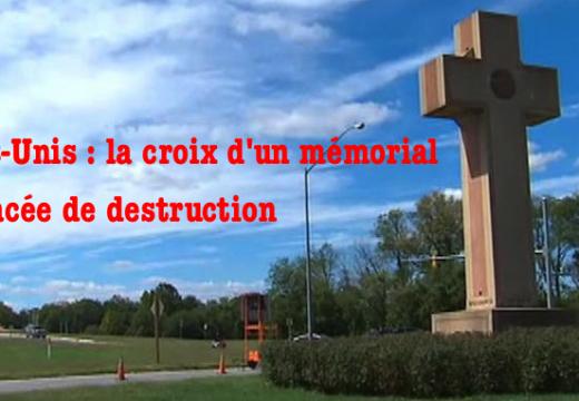 États-Unis : la justice ordonne la destruction de la croix d'un mémorial