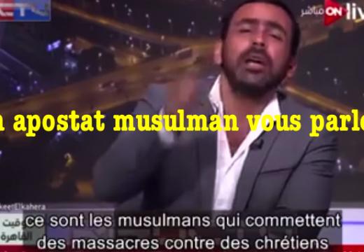 Vidéo : un apostat musulman vous parle…