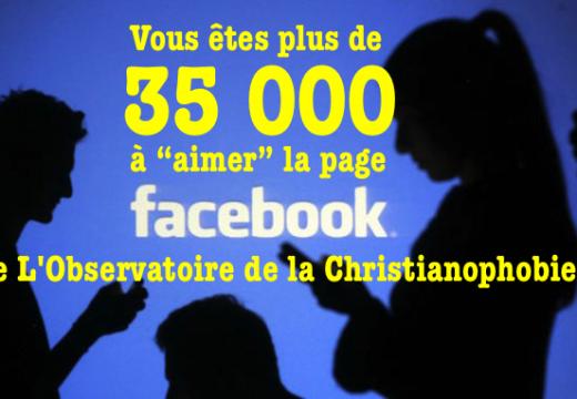 """Plus de 35 000 lecteurs """"aiment"""" notre page Facebook"""