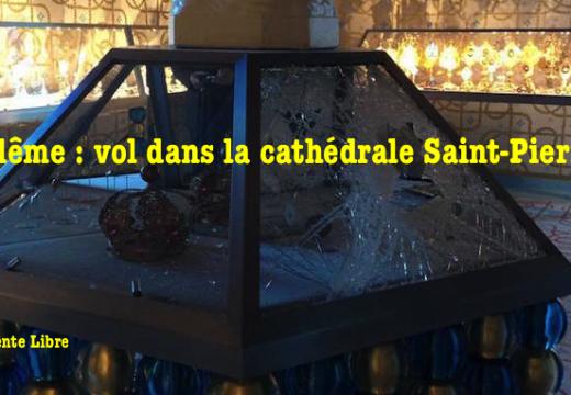 Angoulême : vol dans le trésor de la cathédrale