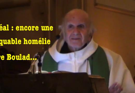 Vidéo : encore une remarquable homélie du Père Boulad