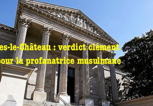 Rennes-le-Château : verdict clément pour la musulmane profanatrice