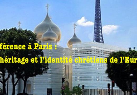 Conférence : « L'héritage et l'identité chrétiens de l'Europe »