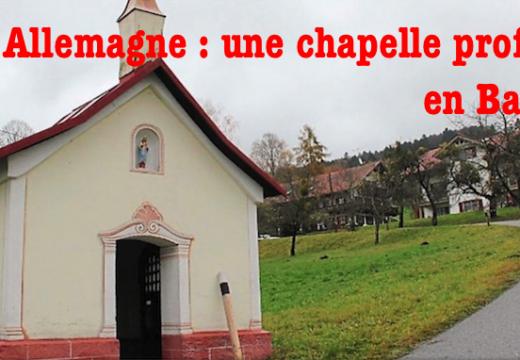 Bavière : une chapelle profanée à Elisabethszell