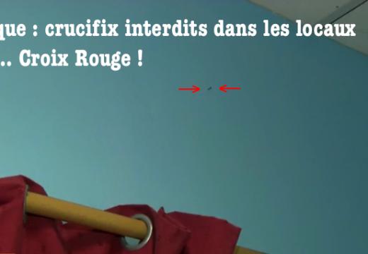 Province de Liège : crucifix interdits dans les locaux de la Croix Rouge