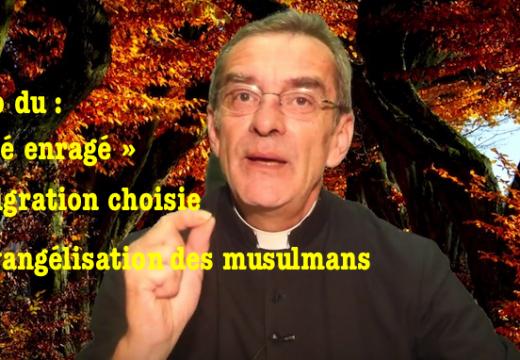 Vidéo du « curé enragé » : immigration choisie et évangélisation des musulmans
