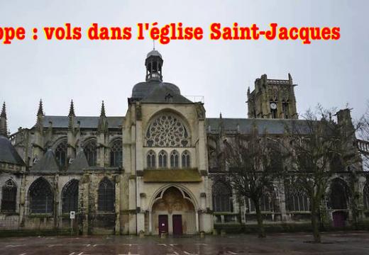 Seine-Maritime : vols dans l'église Saint-Jacques de Dieppe