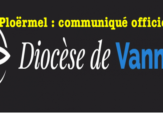 Ploërmel : communiqué officiel du diocèse de Vannes