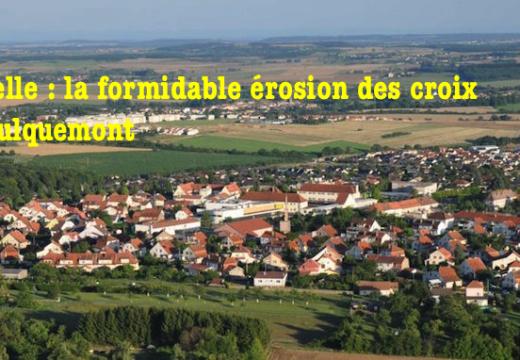 """Moselle : un calvaire victime de """"l'érosion"""" à Faulquemont"""
