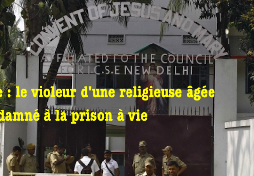 Inde : le violeur d'une religieuse condamné à la prison à vie