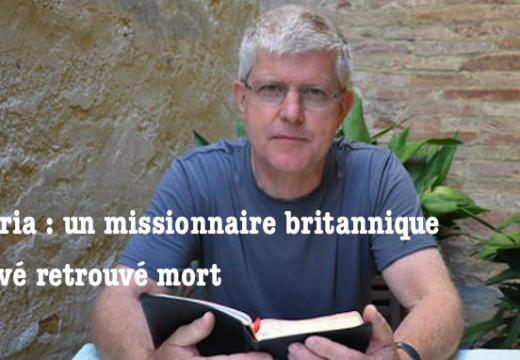 Nigéria : missionnaire britannique enlevé retrouvé mort
