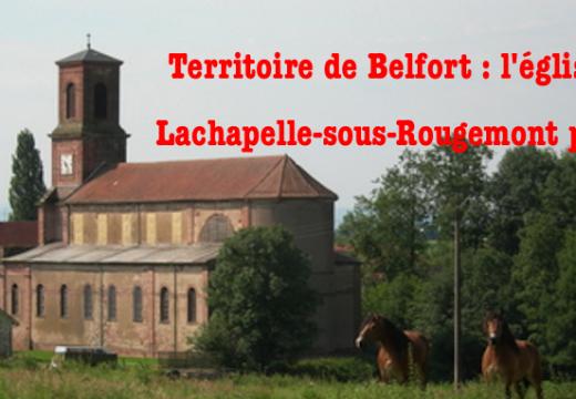 Territoire de Belfort : l'église de Lachapelle-sous-Rougemont pillée