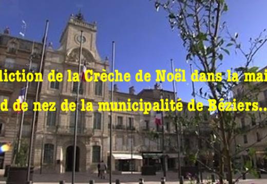 Crèche de Noël : le pied de nez de la mairie de Béziers…