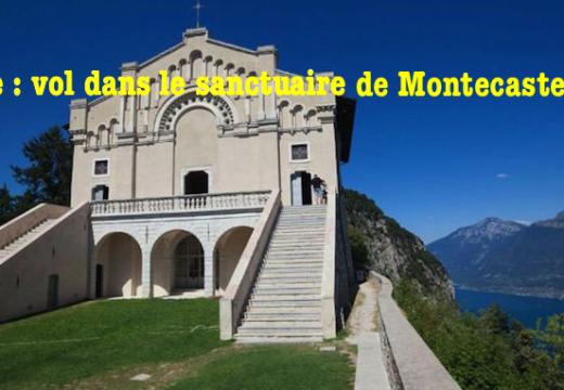 Italie : vols dans un sanctuaire en Lombardie