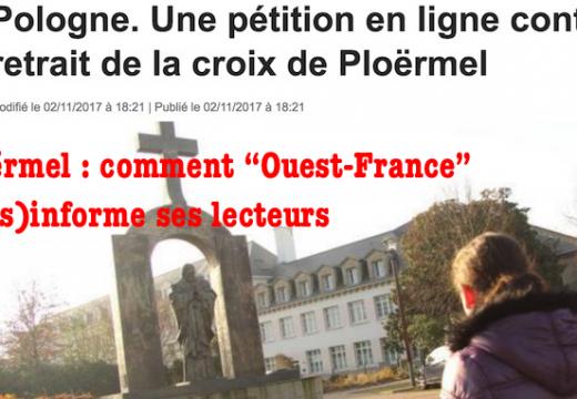 """Ploërmel : comment """"Ouest-France"""" informe…"""