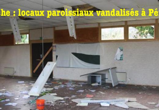 Manche : un bâtiment catholique vandalisé à Périers