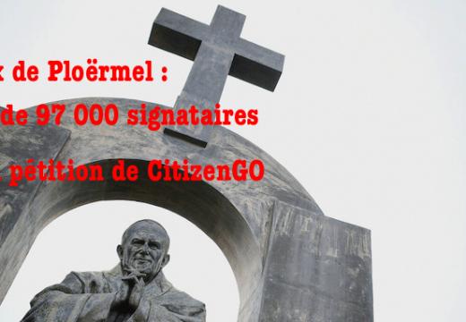Ploërmel : une pétition lancée par CitizenGO