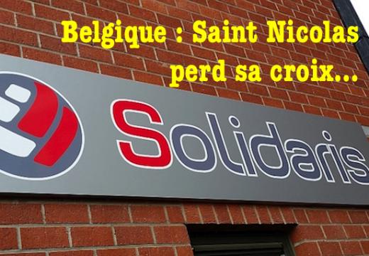 Belgique : Saint Nicolas privé de croix…