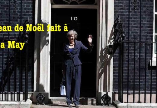 Le cadeau de Noël au Premier ministre Theresa May…