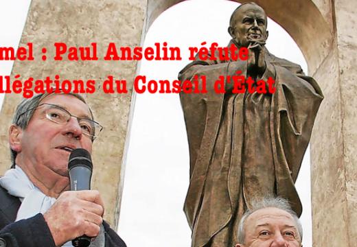 Ploërmel : Paul Anselin conteste les allégations du Conseil d'État