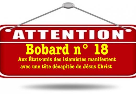 Bobard : des islamistes manifestent avec une tête décapitée de Jésus