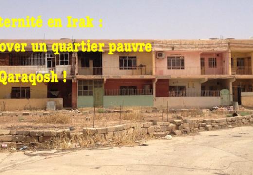 Rénovation de logements à Qaraqosh : un appel de Fraternité en Irak