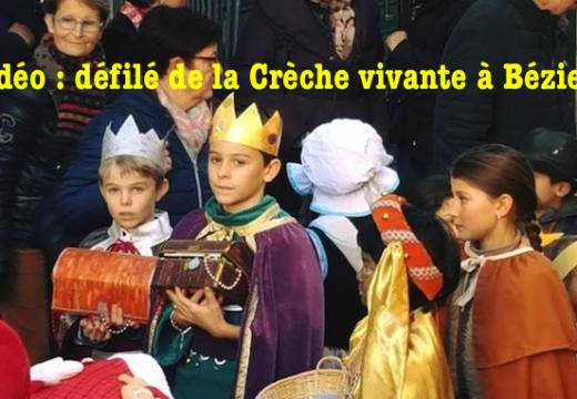Défilé de la Crèche vivante de Noël à Béziers…
