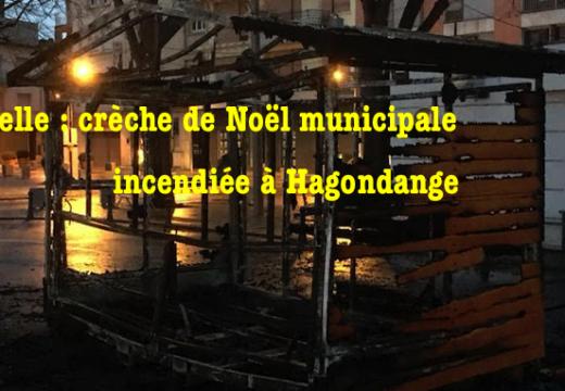 Moselle : Crèche de Noël municipale incendiée à Hagondange