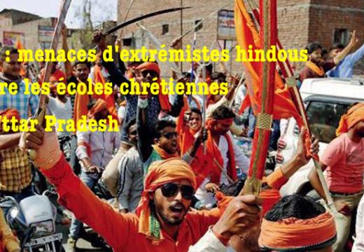 Inde : menaces d'extrémistes contre les écoles chrétiennes