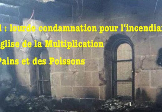 Israël : l'incendiaire de l'église de la Multiplication lourdement condamné