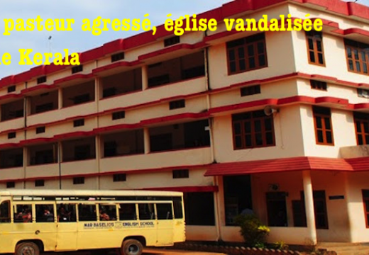 Inde : pasteur agressé, église vandalisée dans le Kerala
