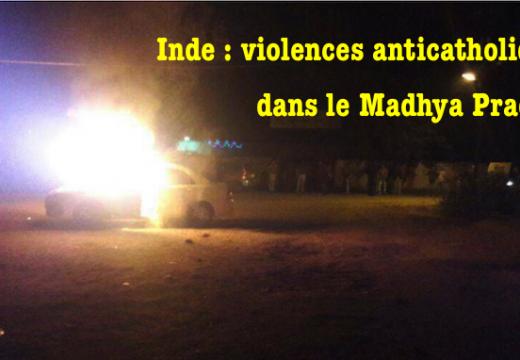 Inde : catholiques pris en otages dans le Madhya Pradesh