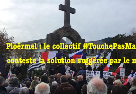 Croix de Ploërmel : communiqué de #TouchePasMaCroix