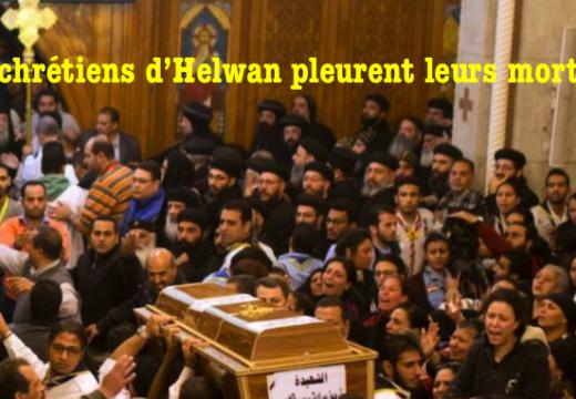 Égypte : les Coptes pleurent leurs morts de Mar Mina