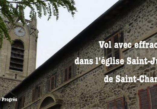 Vol dans l'église Saint-Julien de Saint-Chamond