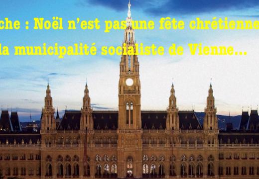 Autriche : pour la municipalité de Vienne, Noël n'est pas une fête chrétienne…