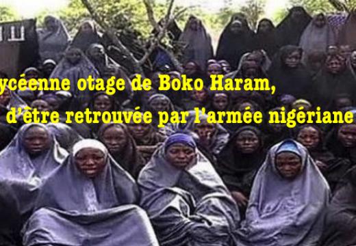 Nigéria : une nouvelle lycéenne enlevée à Chibok retrouvée