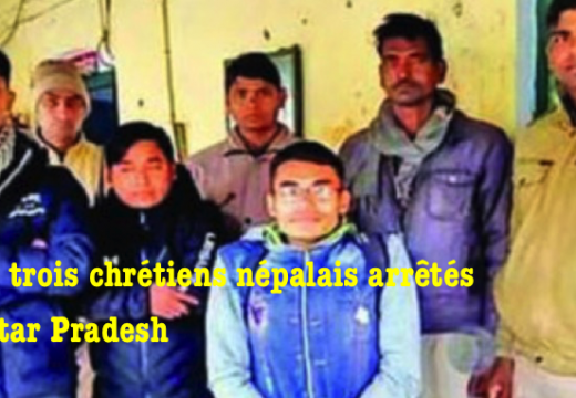 Inde : trois chrétiens népalais arrêtés en Uttar Pradesh
