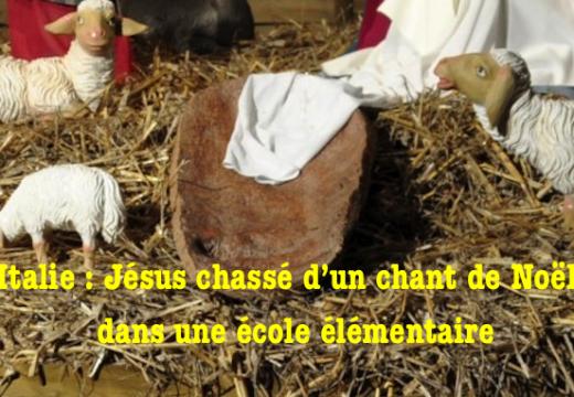 Italie : Jésus remplacé par Pérou pour ne pas offenser les élèves non chrétiens