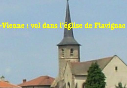 Haute-Vienne : vol dans l'église de Flavignac