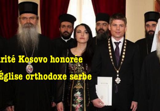 L'Église orthodoxe serbe honore Solidarité Kosovo