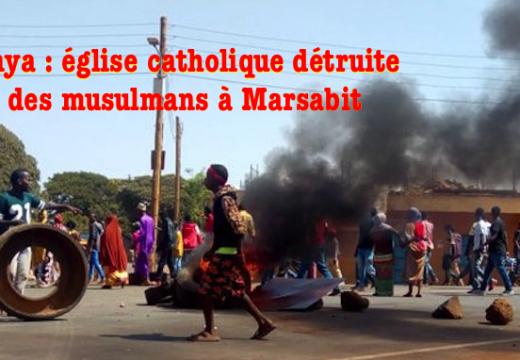 Kenya : une église catholique détruite par des islamistes à Marsabit