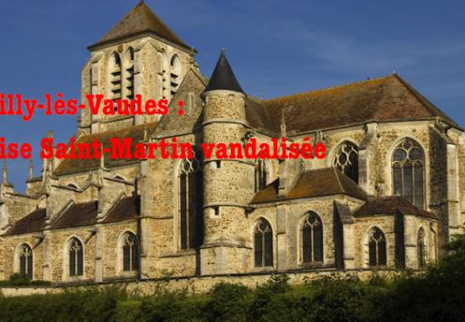 Aube : l'église Saint-Martin de Rumilly vandalisée