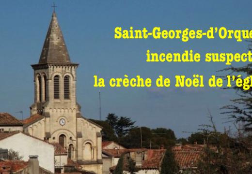 Saint-Georges-d'Orques : incendie suspect dans un local de l'église