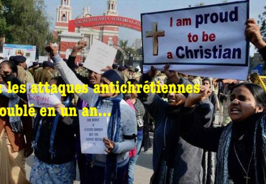 Inde : les attaques antichrétiennes ont doublé en un an…