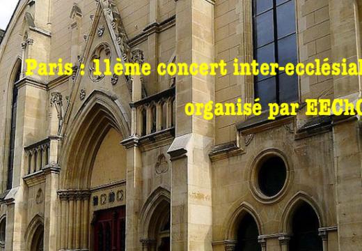 Concert inter-ecclésial : « Jésus Lumière d'Orient et d'Occident »