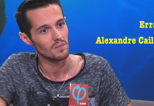 Erratum : Alexandre Cailleteau…